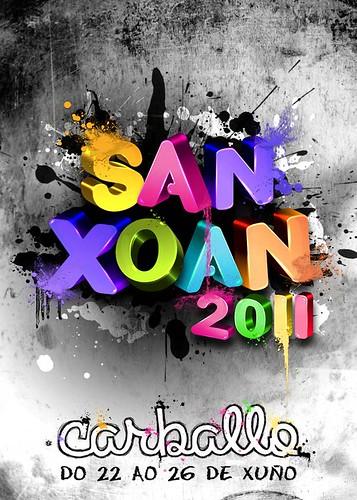 Carballo 2011 - San Xoán - cartel