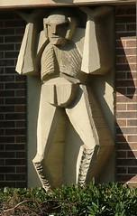 Atlas (ribizlifozelek) Tags: statue utah ut saltlakecity atlas slc