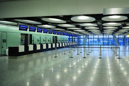 T5 Terminal - Heathrow airport