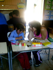 Helly y nia (4to Medio 2008 Coln) Tags: jornada