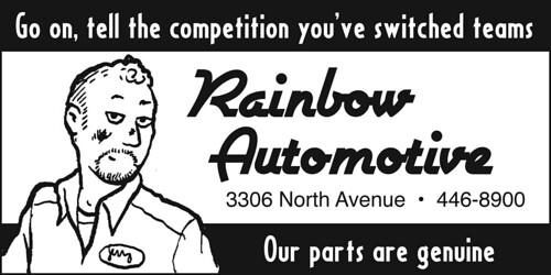 rainbow_automotive laura maker, susie seidelman