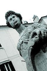 Statue in Piran