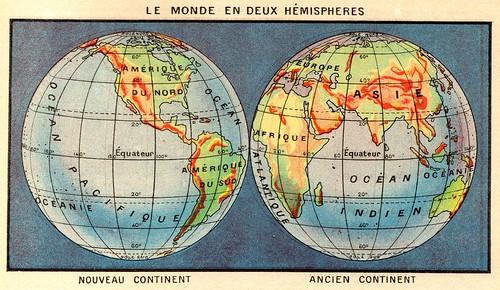 2 hemisphères