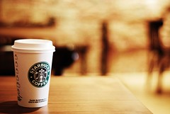 Free Starbucks today ! (*Peanut (Lauren)) Tags: coffee 50mm dc still bokeh georgetown starbucks drinks starbuckscoffee hbw influencedbyricey