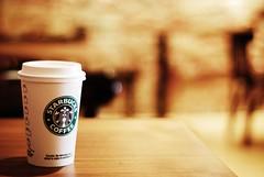 Free Starbucks today ! (*Peanut (Lauren)) Tags: coffee 50mm dc still bokeh georgetown starbucks drinks starbuckscoffee hbw influencedbyricey