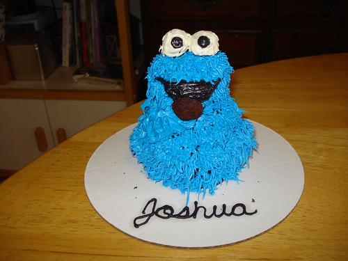 cookie monster cake. Free cookie monster cake for