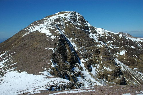 The main top of Baosbheinn from the south