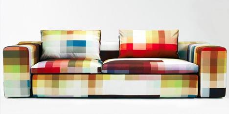 Imagen central del maravilloso sofá pixelado que tanto anhelo