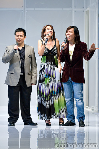 Kenny Sia, Lim Jimmy and Elaine Daly
