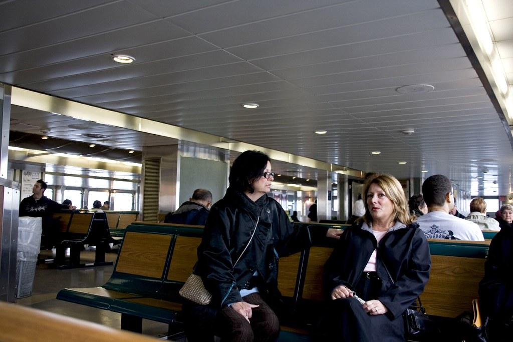 Staten Island Ferry's interior