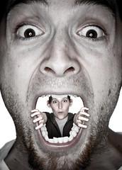 Mouth ache (LShadrack) Tags: photoshop mouth shoot teeth olympus 365 e3 lightroom strobist