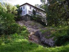Rivningskk (Eva the Weaver) Tags: house building abandoned architecture gteborg sweden hill gothenburg whole villa desolate entire sahlgrenska disjoint apotekarvillan apotekaregatan17