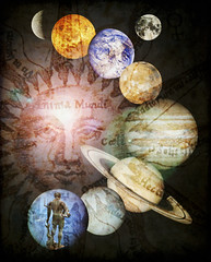 Anima Mundi (AlicePopkorn) Tags: photoshop creativity god roman digitalart creativecommons planet neptune mythology wpc animamundi weeklyphotoshopcompetition alicepopkorn
