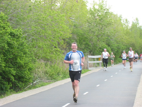 Ed in Green Bay Marathon