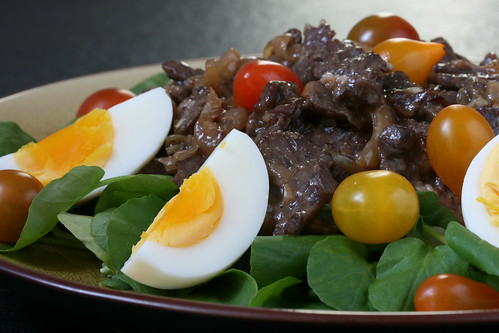 Viet Stir-Fried Beef and Watercress Salad