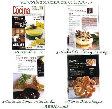 Revista Escuela de cocina nº 19