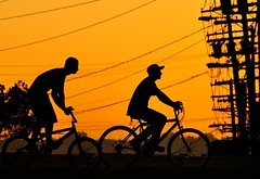 We Ride At Magic Hour (TJ Scott) Tags: bike losangeles echopark sihouette firstquality aplusphoto infinestyle theunforgettablepictures vanagram