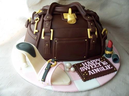 Sweet 16  Purse cake