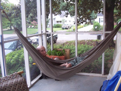 home-made hammock