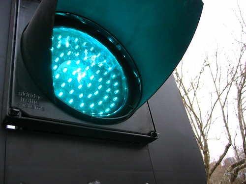 The Green Light by Ted Percival on Flickr