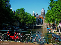 Amsterdam, Holland 083 - 1 million bikes