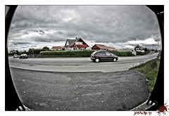 (Jostein R*) Tags: norway photoshop nikon wideangle busstop fisheye tokina skatepark adobe lightroom tasta d40 1017mm