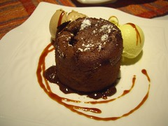 Chocolate Fondant Cake at Mare