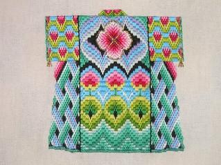 bargello kimono