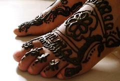 designed feet (okkamocha) Tags: mehendi marudhani marudhanivizhiyilyaen