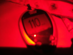 110....good range for sleeping