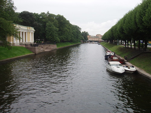 One of the beautiful canals