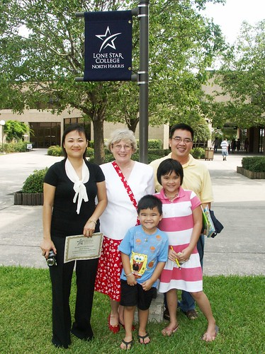 Judy Taylor Angie Nguyen and family