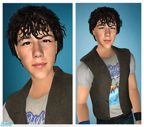 Nick Jonas As A Sim! by Amy Loves Nick :D.
