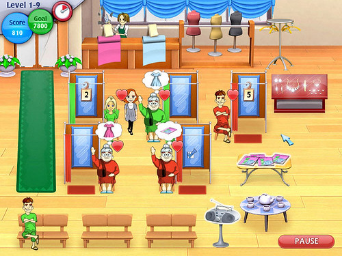 Fashion Dash Game - new great salon game!