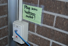 Change Management 101 (fromky) Tags: signage ethernet handwritten telecommunications contradictory cwd cwd802