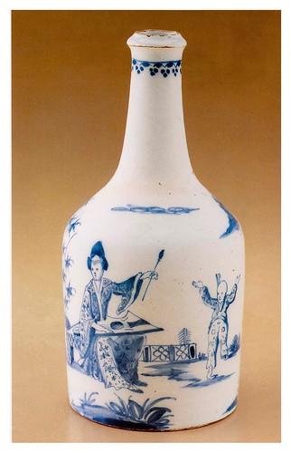 22-Botella probalemente de Bristol año 1765