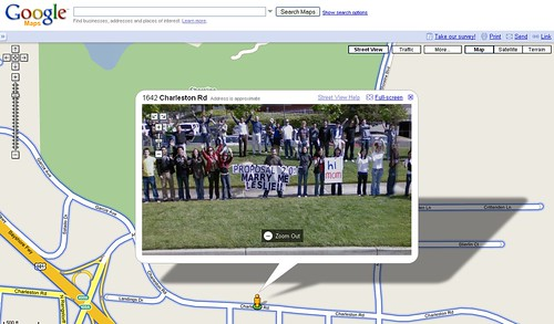 Marriage Proposal On Google Earth