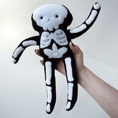 Stuffy Skeleton!