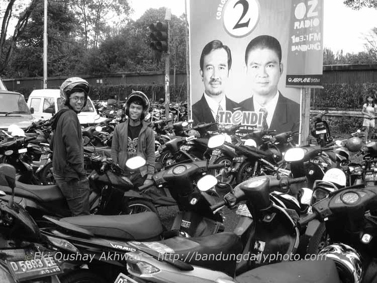 Sea of Motorbikes 1