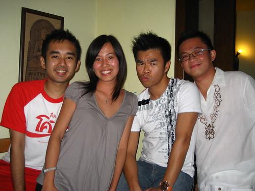 Aldo, Yali, Mok & I