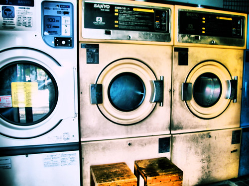 Old launderette