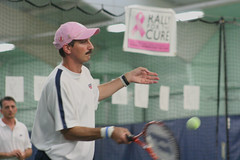 Ettore rallies during Rally for the Cure (Rossetti Brothers Tennis) Tags: rally tennis longest