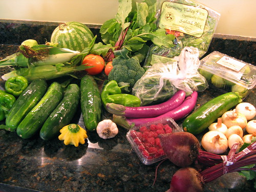 What's in CSA box #8