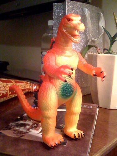 Bootleg Godzilla from universal studios