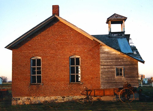 Lagrange County schoolhouse 1988