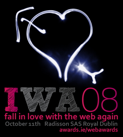 Fall in love with the Irish Web Awards