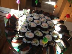 Sushi + Spam Musubis