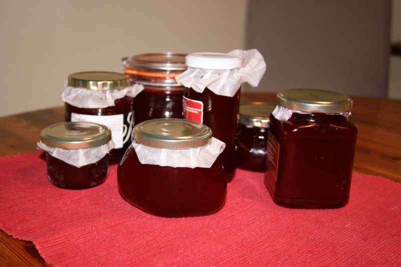 Redcurrant jelly mmmm...