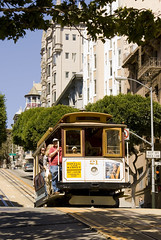 Cable Car on Powell St