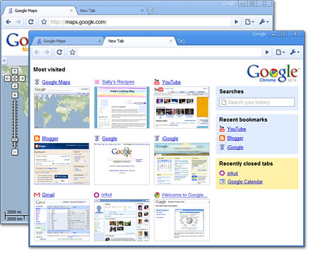 Screenshot de Google Chrome